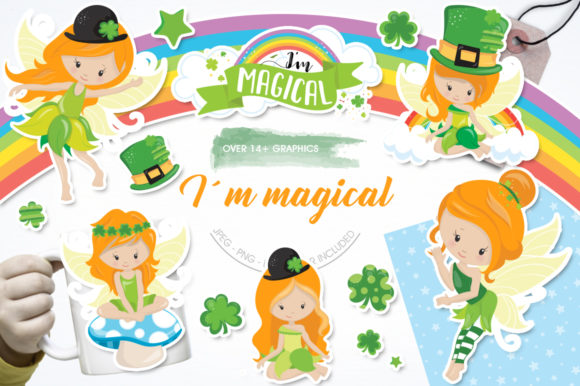 Print on Demand: I'm Magical Graphic Illustrations By Prettygrafik