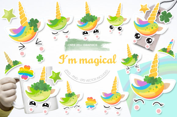 Print on Demand: I Am Magical Graphic Illustrations By Prettygrafik