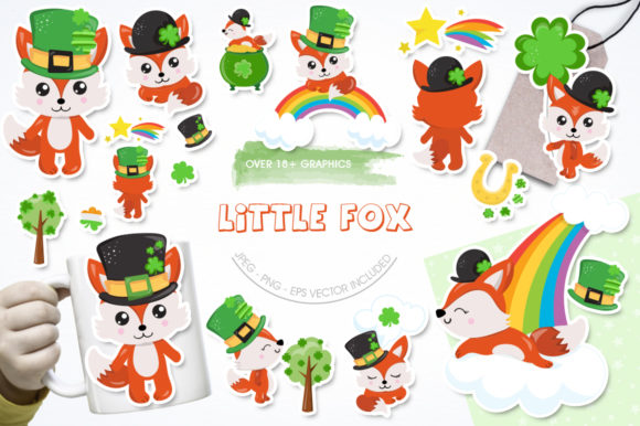 Print on Demand: Little Fox Graphic Illustrations By Prettygrafik