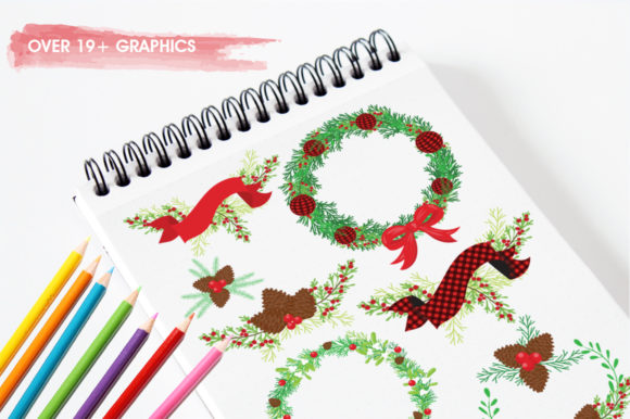 Print on Demand: Merry Christmas! Graphic Illustrations By Prettygrafik - Image 3