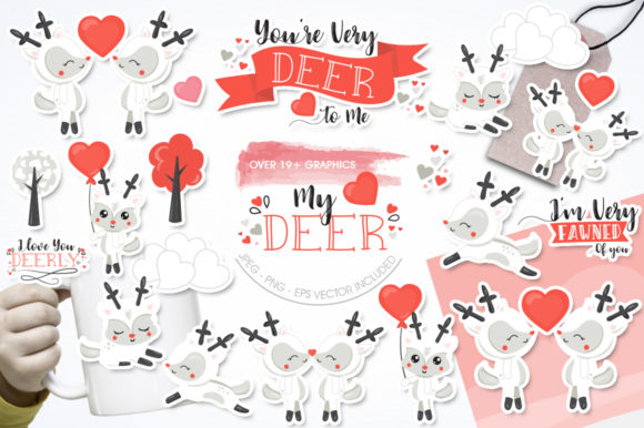 Print on Demand: My Deer Graphic Illustrations By Prettygrafik