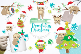 Print on Demand: Peaceful Christmas Graphic Illustrations By Prettygrafik