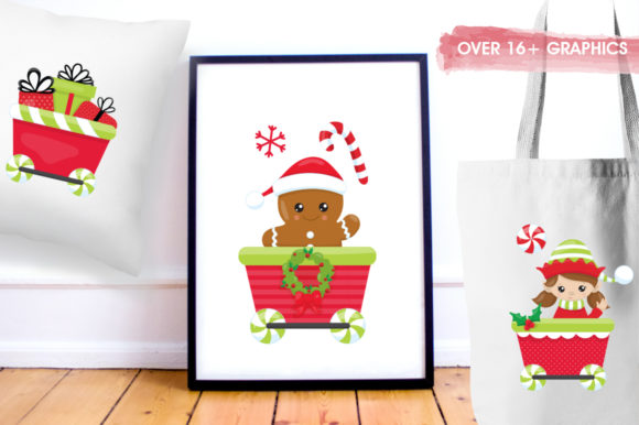Print on Demand: Santa's Helper Graphic Illustrations By Prettygrafik - Image 5