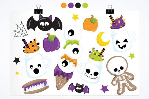 Print on Demand: Trick or Treat Graphic Illustrations By Prettygrafik - Image 2