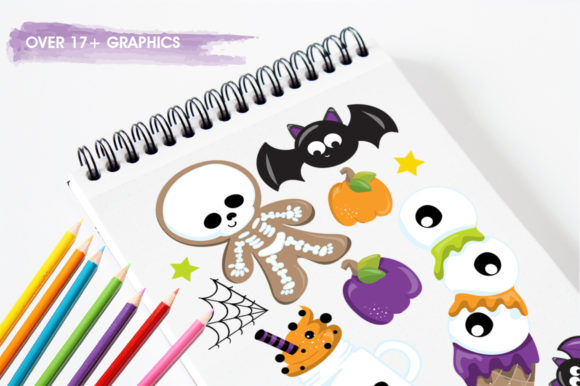 Print on Demand: Trick or Treat Graphic Illustrations By Prettygrafik - Image 3