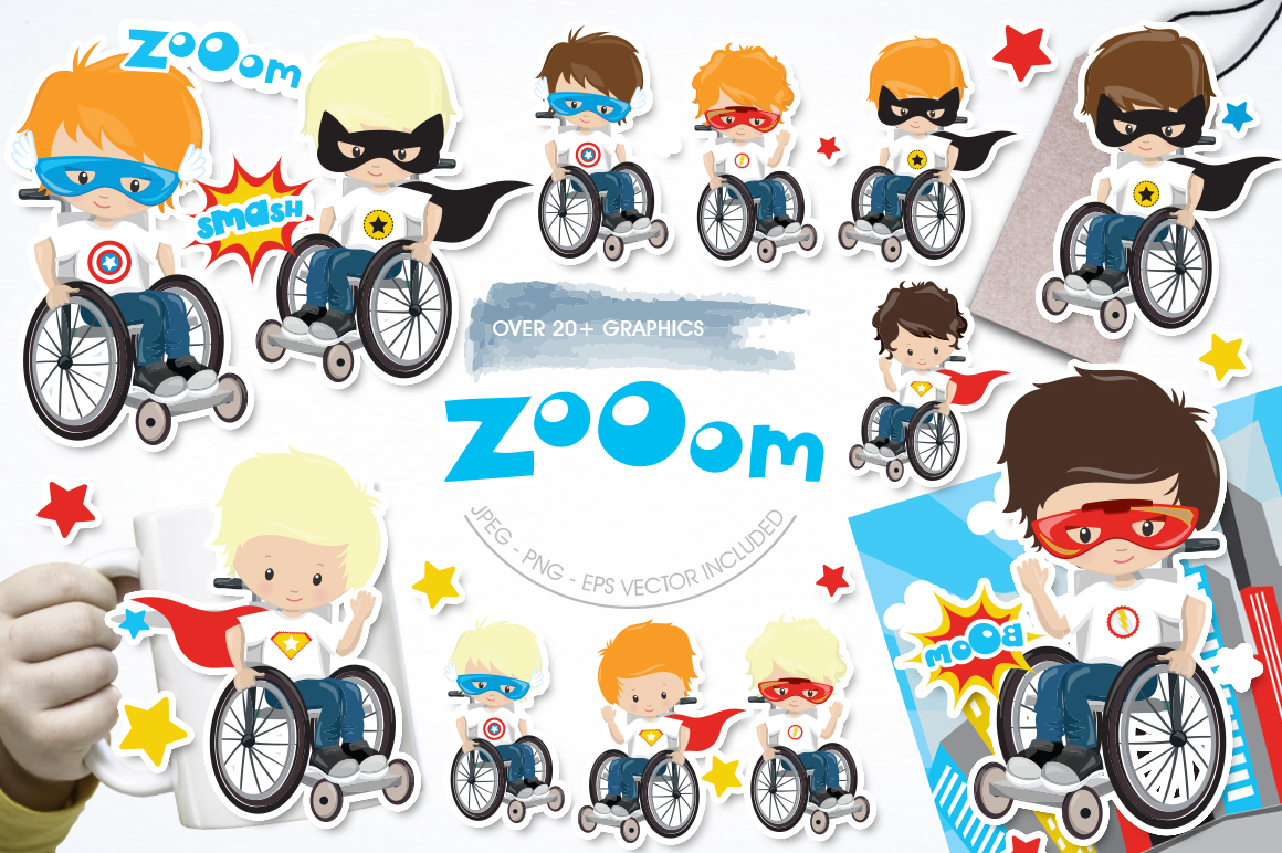 Download Free Zoom Graphic By Prettygrafik Creative Fabrica for Cricut Explore, Silhouette and other cutting machines.