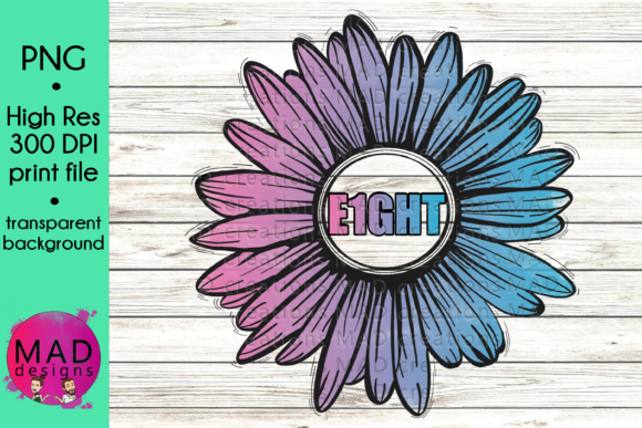 E1GHT Infertility Rustic Sunflower Graphic By maddesigns718