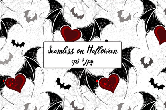 Seamless on Halloween Graphic Patterns By Blackmoon9