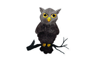 Spooky Owl Watercolor Halloween Craft Cut File By Creative Fabrica Crafts