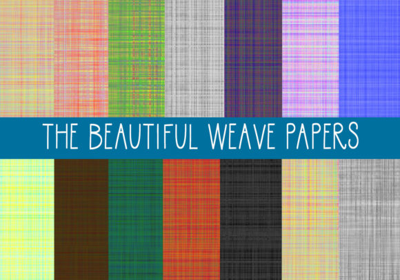Print on Demand: The Beautiful Weave Papers Graphic Patterns By capeairforce