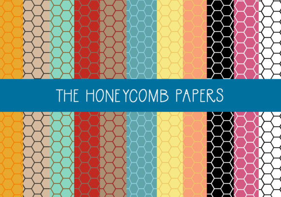 Print on Demand: The Honeycomb Papers Graphic Patterns By CapeAirForce