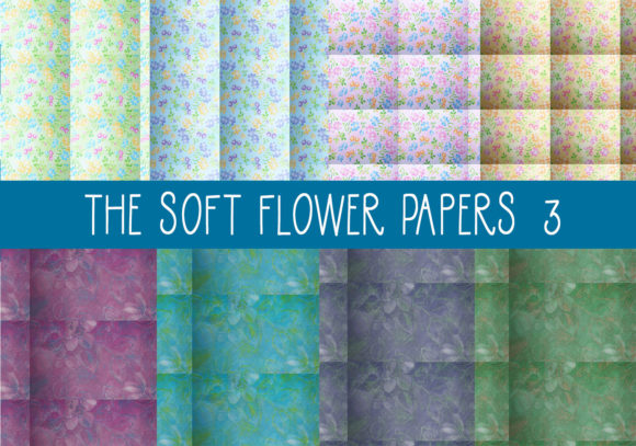 The Soft Flower Papers     Set 3 Graphic By capeairforce