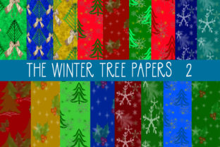 The Winter Tree Papers 2 Graphic By capeairforce