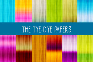 The Tie-Dye Papers Graphic By capeairforce