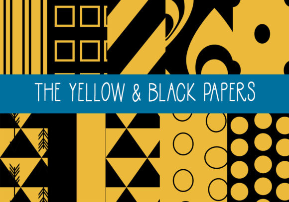 The Yellow & Black Papers Graphic By capeairforce
