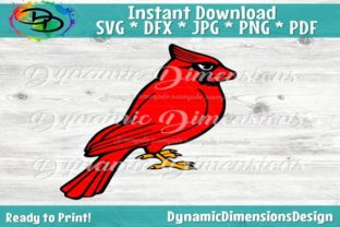 Cardinal Bird Graphic By dynamicdimensions