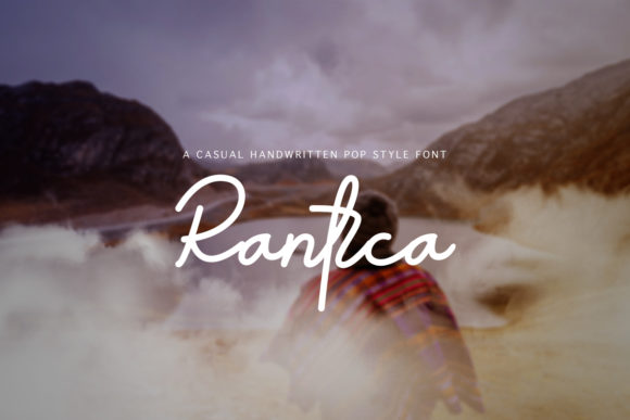 Print on Demand: Rantca Script & Handwritten Font By muladha.aidil