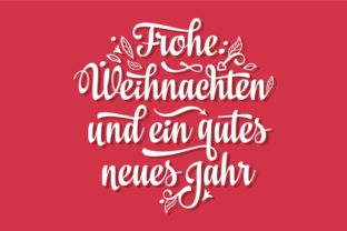 Download Free Frohe Weihnachten German Christmas Graphic By Zoyali Creative for Cricut Explore, Silhouette and other cutting machines.