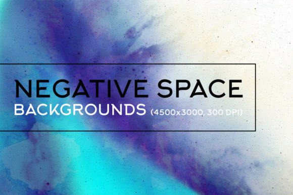 Print on Demand: Negative Space Backgrounds 1 Graphic Backgrounds By freezerondigital