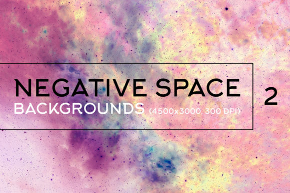 Print on Demand: Negative Space Backgrounds 2 Graphic Backgrounds By freezerondigital
