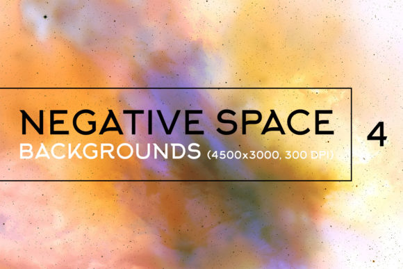 Print on Demand: Negative Space Backgrounds 4 Graphic Backgrounds By freezerondigital