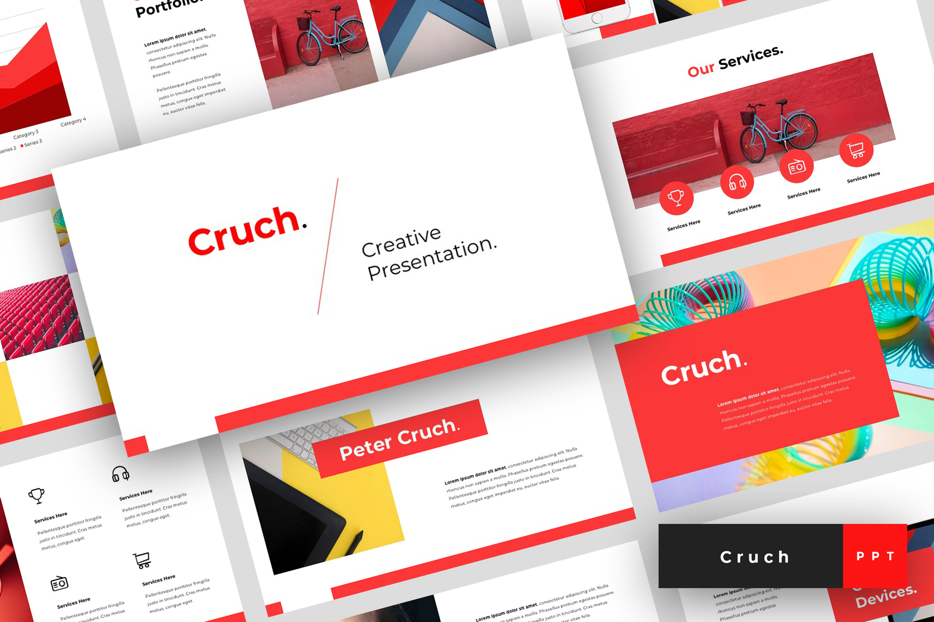 Download Free Cruch Creative Powerpoint Graphic By Stringlabs Creative Fabrica for Cricut Explore, Silhouette and other cutting machines.