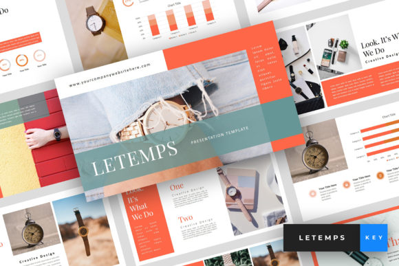Letemps - Watch Keynote Graphic Presentation Templates By StringLabs