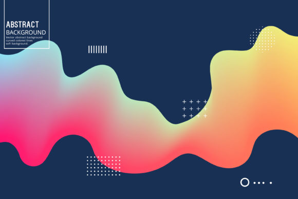 Download Free Wavy Lines Color Background Graphic By Manuchi Creative Fabrica for Cricut Explore, Silhouette and other cutting machines.