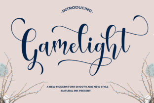 Gamelight Font By Natural Ink