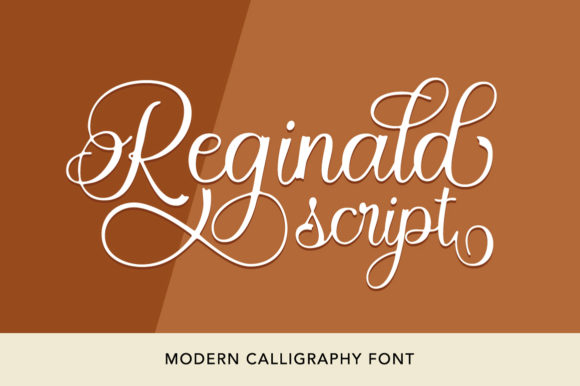 Print on Demand: Reginald Script & Handwritten Font By Solidtype