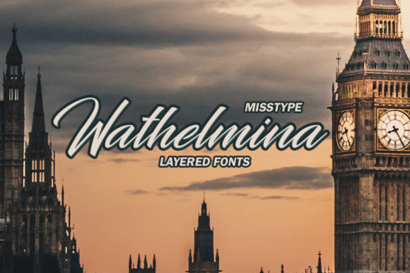 Print on Demand: Wathelmina Script & Handwritten Font By IRF Lab Studio