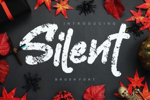 Print on Demand: Silent Script & Handwritten Font By Vunira