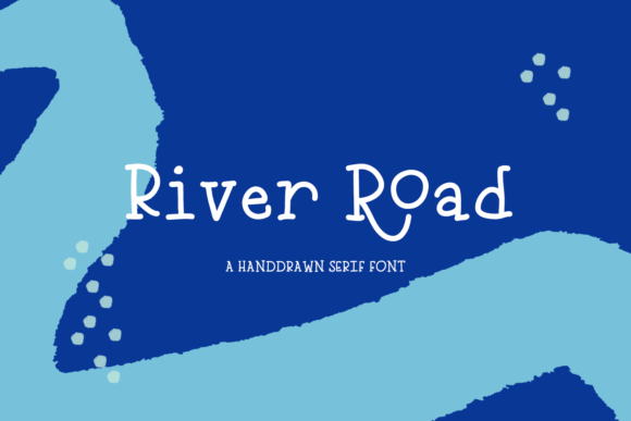 Print on Demand: River Road Serif Font By BeckMcCormick