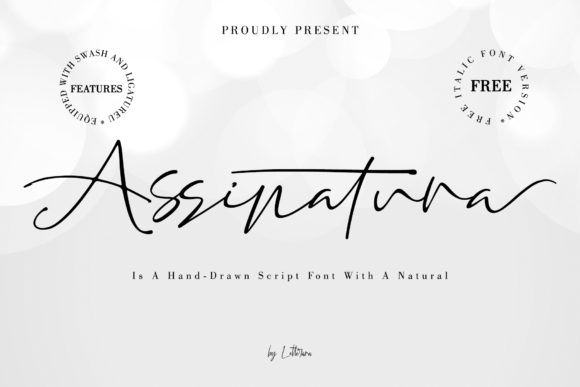 Print on Demand: Assinatura Script & Handwritten Font By thomasaradea
