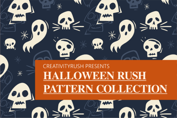 Print on Demand: Halloween Rush Pattern Collection Graphic Illustrations By Spasova