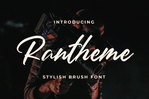 Print on Demand: Rantheme Script & Handwritten Font By Bangkit Setiadi