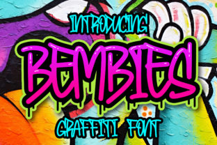 Print on Demand: Bembies Display Font By Blankids Studio