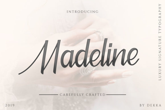 Print on Demand: Madeline Script & Handwritten Font By Trim Studio