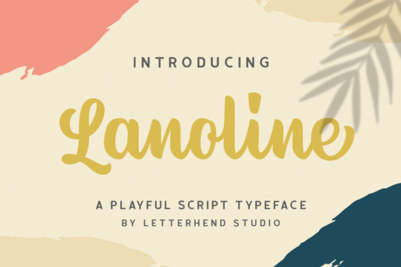 Print on Demand: Lanoline Script & Handwritten Font By letterhend