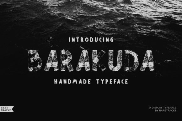 Print on Demand: Barakuda Display Font By raretracks