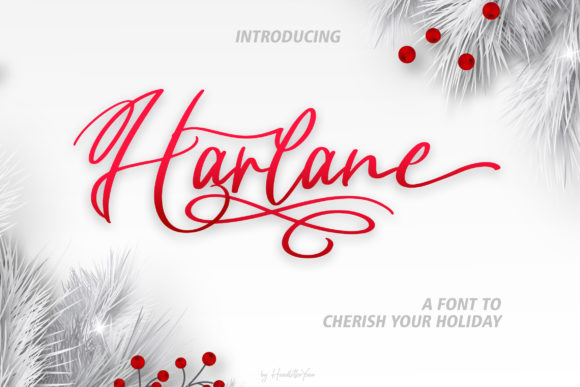Harlane Font By yean.aguste Image 1