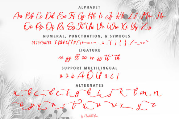 Harlane Font By yean.aguste Image 10
