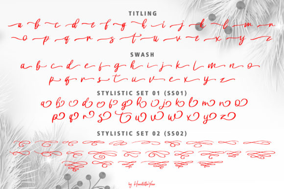Harlane Font By yean.aguste Image 11