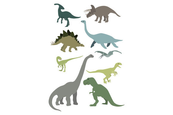 Dinosaurs Dinosaurs Craft Cut File By Creative Fabrica Crafts