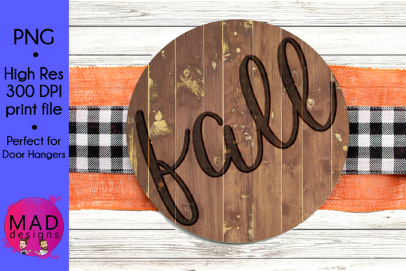 Door Hanger - Fall Burned Wood Graphic Crafts By maddesigns718