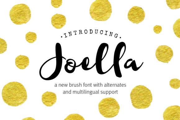 Print on Demand: Joella Script & Handwritten Font By joanne.hewitt