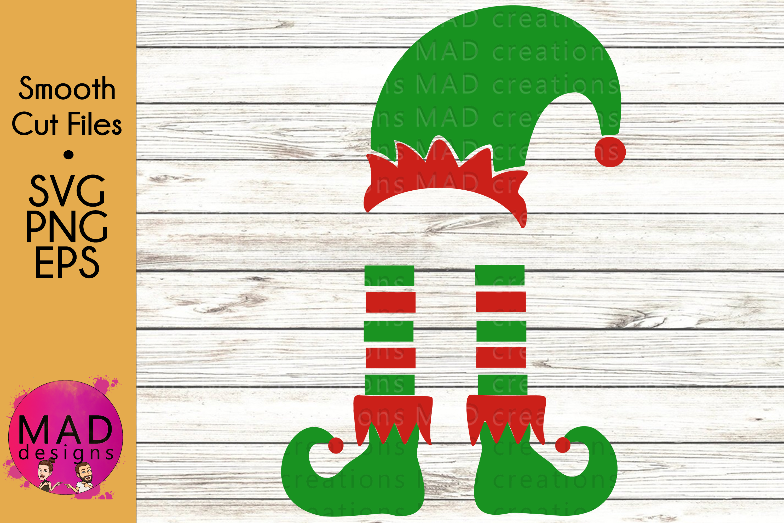 Download Free Christmas Elf Graphic By Maddesigns718 Creative Fabrica for Cricut Explore, Silhouette and other cutting machines.
