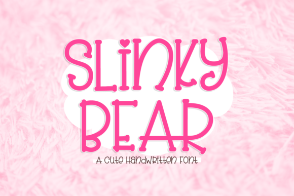 Print on Demand: Slinky Bear Serif Font By Barton Market