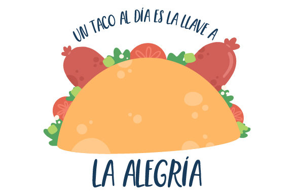 Download Free Taco With Chorizo Svg Cut File By Creative Fabrica Crafts for Cricut Explore, Silhouette and other cutting machines.