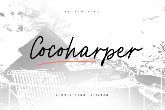 Print on Demand: Cocoharper Script & Handwritten Font By creativemedialab - Image 1